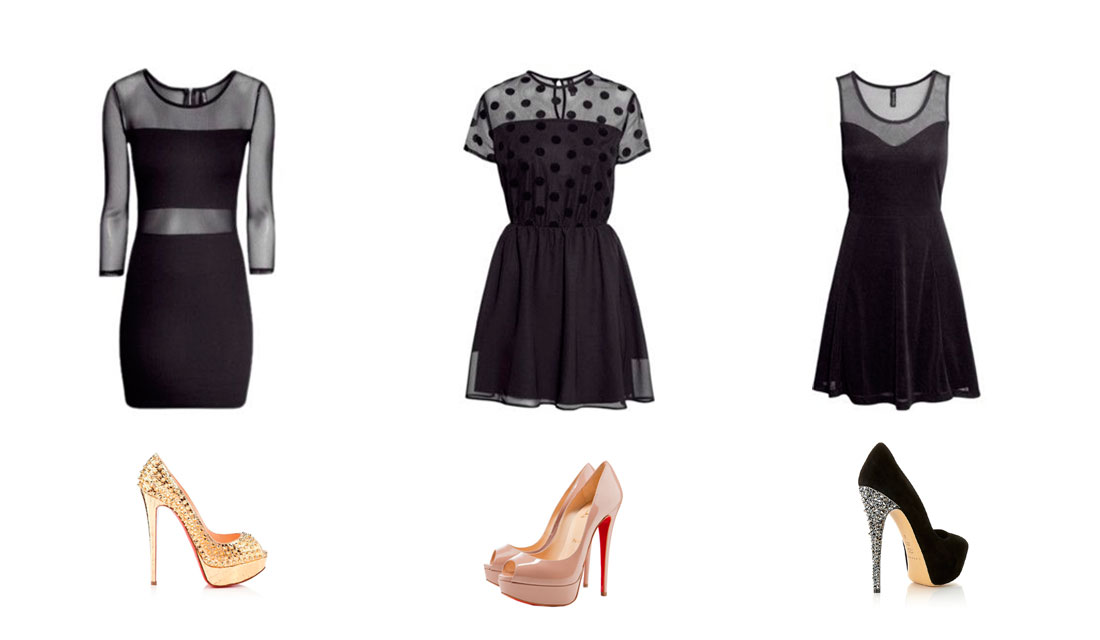 Outfits de vestidos de fiesta