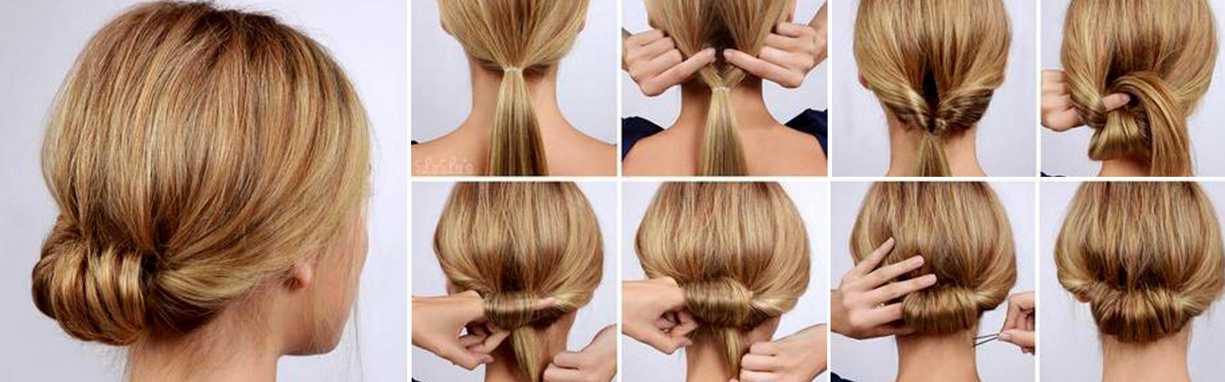 Peinado facil recogido paso a paso