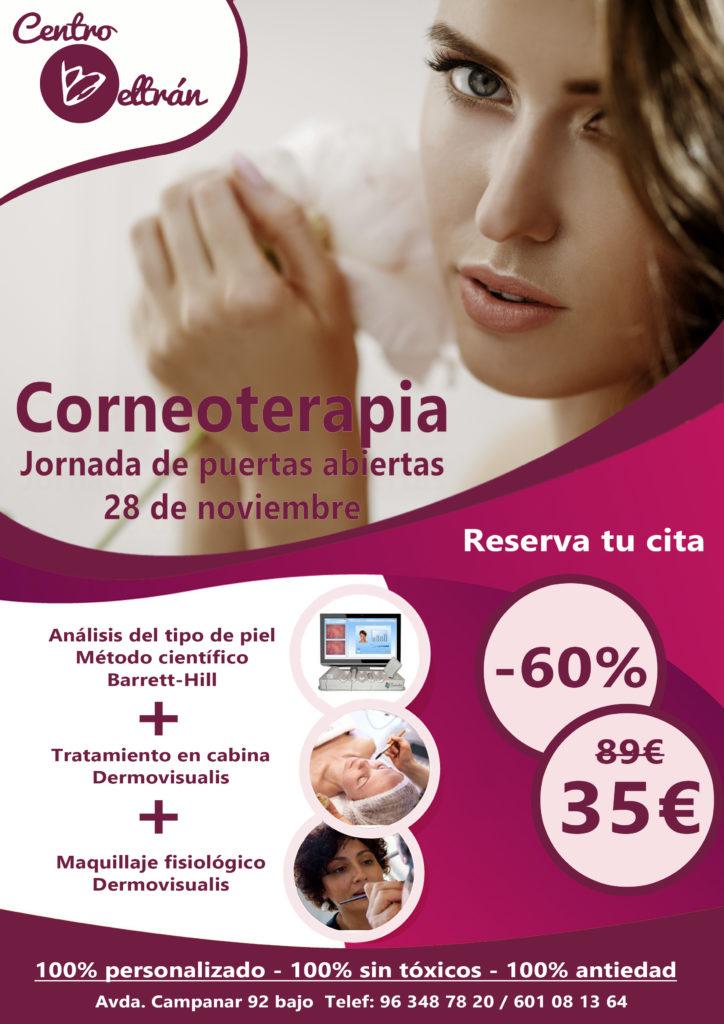 Soluciona los problemas de tu piel con la corneoterapia