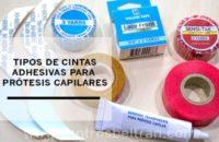 Tipos de cintas adhesivas para prótesis capilares